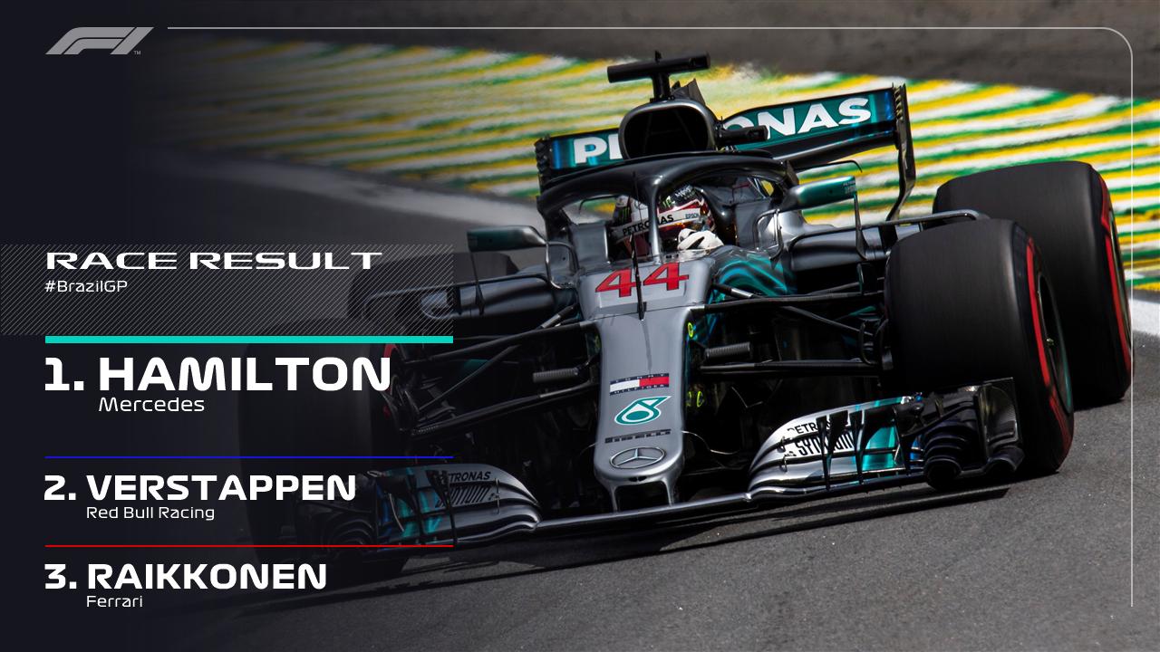 Formula 1 Brasile, Mercedes campione col pathos dello scarico